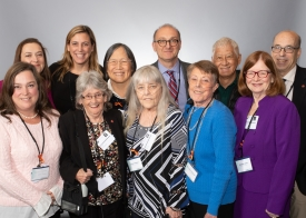 The COPD Foundation team was joined by five advocates at the NHC.