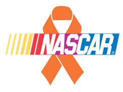 NASCAR Orange Ribbon