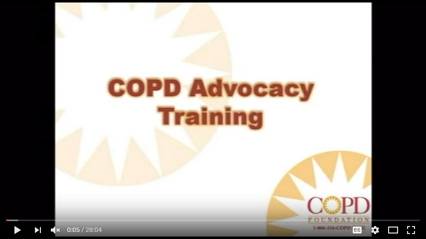 Become a COPD Advocate