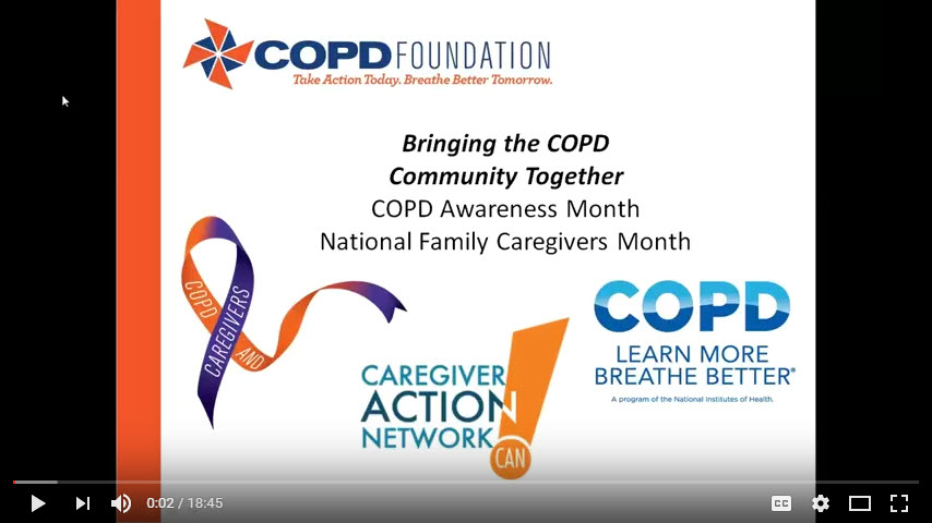 Bringing the COPD Community Together: COPD Awareness Month and National Family Caregivers Month