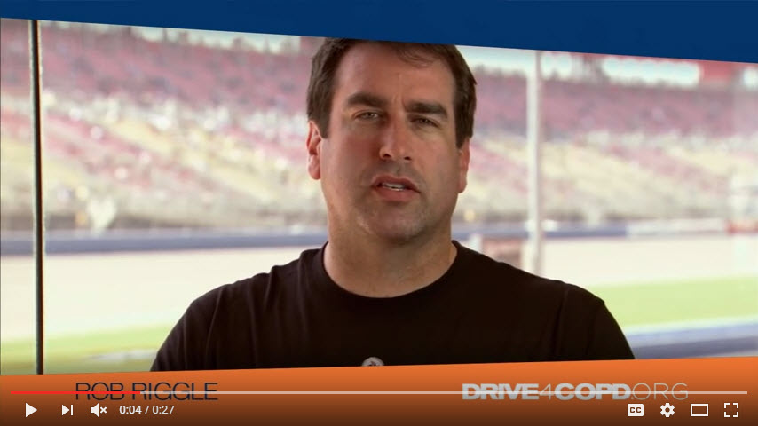 Rob Riggle Supports Drive4COPD