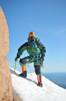 Chase Hinckley Climbing for COPD