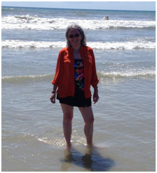 Karen Deitemeyer Goes Orange for COPD Awareness