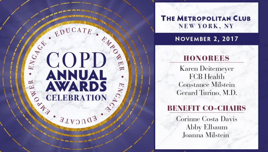2017 COPD Annual Awards Celebration