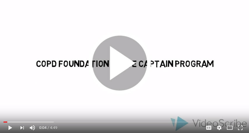 COPD Foundation State Captain Program Informational Video