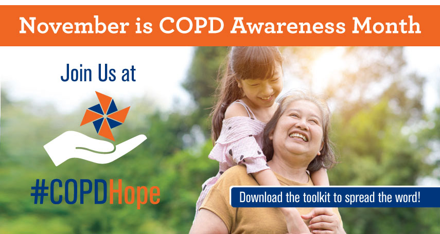COPD Hope | November is COPD Awareness Month