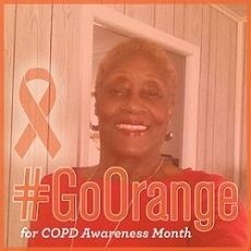 Jan Cotton for COPD awareness