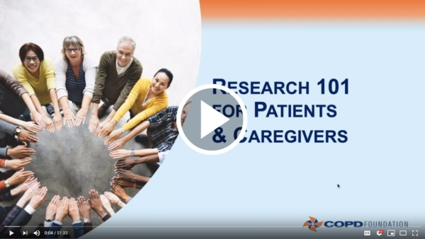 Research 101 for Patients & Caregivers | Click to watch the video.