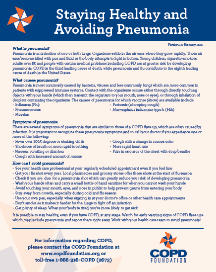 pneumonia fact sheet
