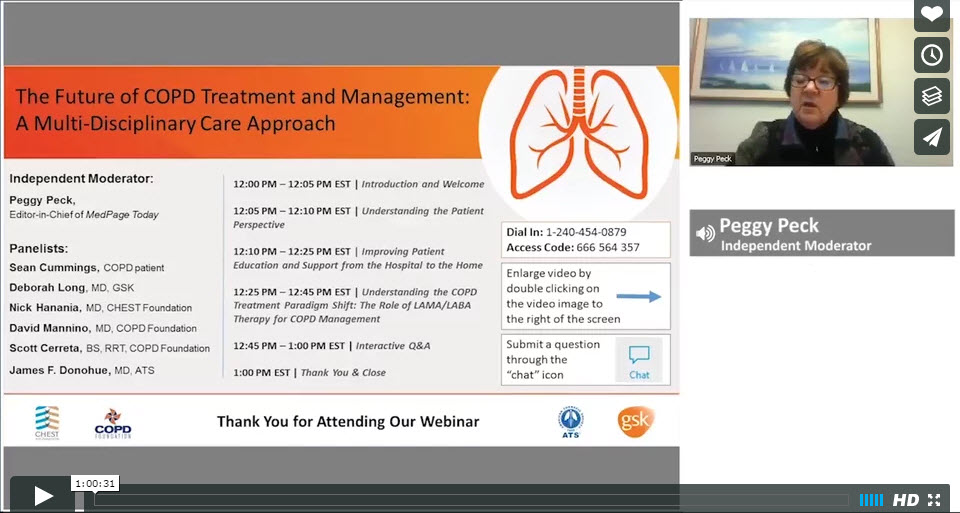 The Future of COPD Treatment and Management— A Multi-Disciplinary Care Approach