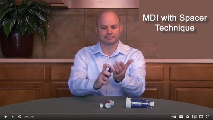 MDI with Spacer Technique