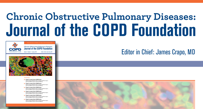 Chronic Obstructive Pulmonary Diseases:Journal of the COPD Foundation