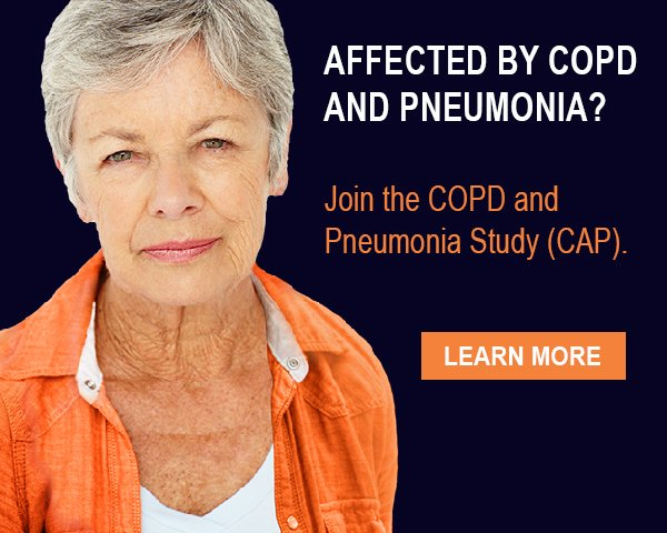 Join the COPD and Pneumonia Study (CAP)