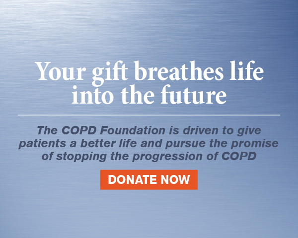 Help Support the COPD Foundation