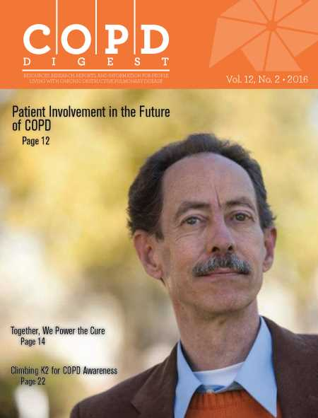 COPD Digest Current Issue Cover
