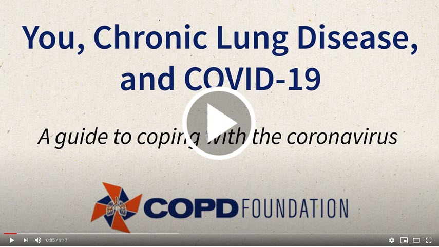 You, Chronic Lung Disease, and COVID-19