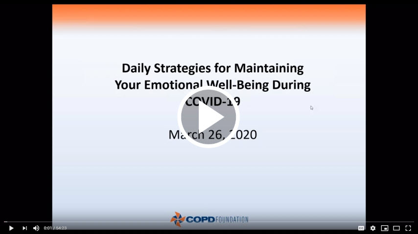 Daily Strategies for Your Emotional Well-Being During COVID-19